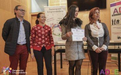 Entrega de diplomas a nuestros primeros 23 emprendedores