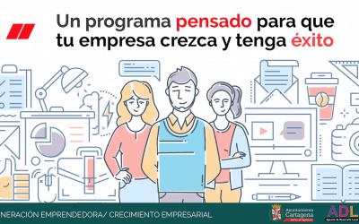 El interés por participar en el programa Generación Emprendedora Crecimiento Empresarial sobrepasa con creces las expectativas iniciales